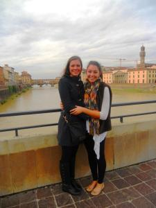 Exploring Florence, the view from the River