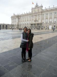outside of the Royal Palace