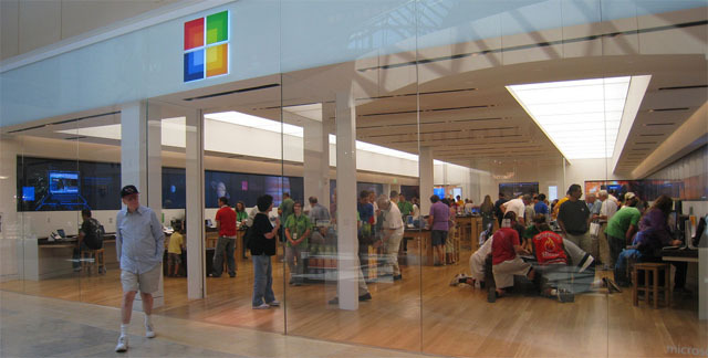 Microsoft retail stores are sprouting up across the nation