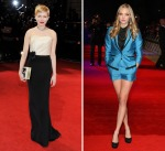 Michelle WIlliams and Amanda Seyfried wearing Exclusive Conscious